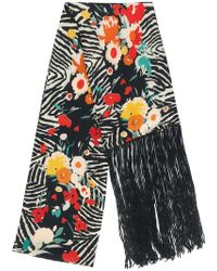 Lily and Lionel - Wild Flower Scarf - Lyst