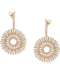 Astley Clarke - 'rising Sun' Diamond Earrings - Lyst