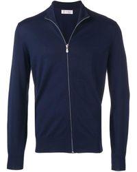 Brunello Cucinelli - Sweatshirtjacke mit Reißverschluss - Lyst
