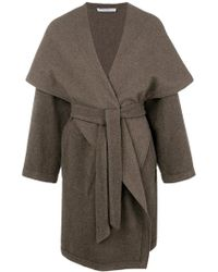 Dusan - Belted Oversized Coat - Lyst