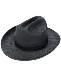 Neighborhood - Straw Trilby Hat - Lyst