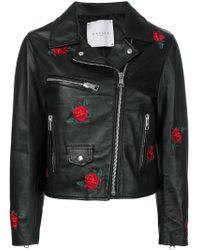 Gaëlle Bonheur - Embroidered Rose Jacket - Lyst