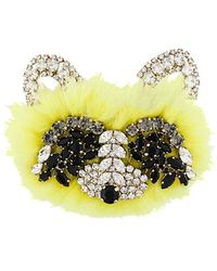 Ermanno Scervino - Embellished Bear Brooch - Lyst