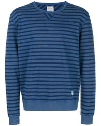 Closed - Striped Fitted Sweater - Lyst