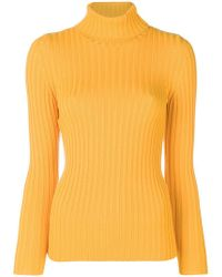 Moschino - Roll-neck Fitted Jumper - Lyst