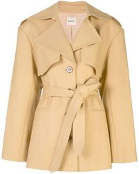 Khaite - Belted Trench Coat - Lyst