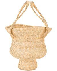 Rosie Assoulin - Jug Woven Hand Bag - Lyst