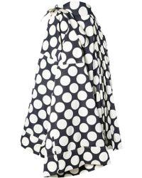 Awake   Polka-dot Flared Skirt   Lyst