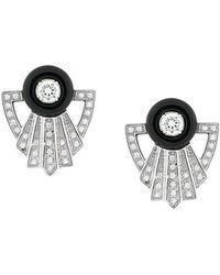 V Jewellery - Garance Earrings - Lyst