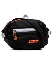 f0f111353d37 Heron Preston - Black And White 'style' Belt Bag - Lyst