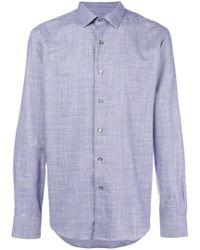 Lanvin - Checked Shirt - Lyst