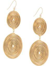 Petite Grand - Double Espiral Earrings - Lyst