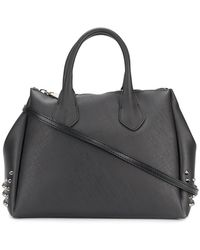 Gum - Stud-detailed Textured Tote - Lyst