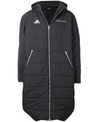 Gosha Rubchinskiy - X Adidas Padded Hooded Maxi Coat - Lyst