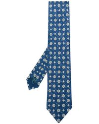 Brioni - Floral Print Tie - Lyst