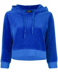 Juicy Couture - Swarovski Personalisable Velour Hooded Pullover - Lyst