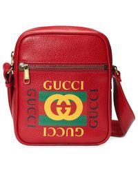 Gucci - Bolso cruzado Print - Lyst