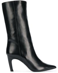 Aldo Castagna - Mid-calf Leather Boots - Lyst