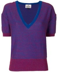 Vivienne Westwood Red Label | Deep V-neck Jumper | Lyst