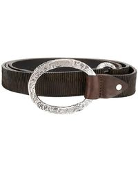 Eleventy - Ribbed Belt - Lyst