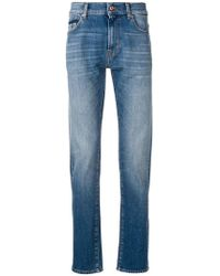 7 For All Mankind - Slim Fit Jeans - Lyst
