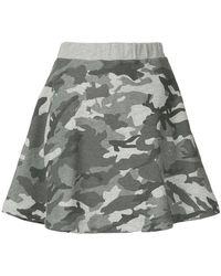 Loveless - Camouflage Skirt - Lyst