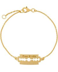 True Rocks - Razor Bracelet - Lyst