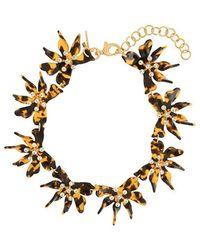 Lele Sadoughi - Flower Collar - Lyst