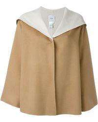 Agnona - Cashmere Hooded Cape - Lyst