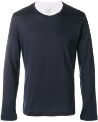 Eleventy - Layered Long Sleeve T-shirt - Lyst