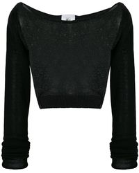 Lost and Found Rooms - Cropped Sweater - Lyst
