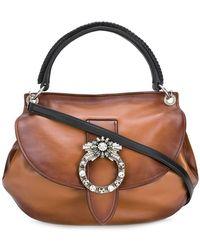 Miu Miu - Madras Miu Lady Bag - Lyst