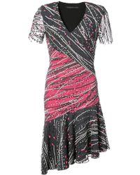 Rubin Singer - Embellished V-neck Dress - Lyst