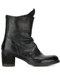 Officine Creative - Chunky Heel Boots - Lyst