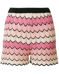 Ainea - Patterned Shorts - Lyst