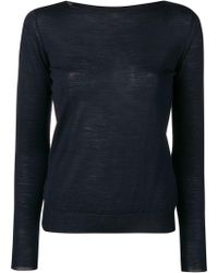 Roberto Collina - Fitted Knit Top - Lyst