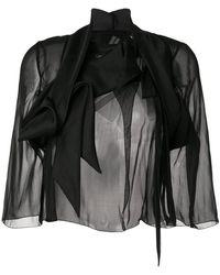 Rick Owens - Wishbone Glitter Combo Jacket - Lyst