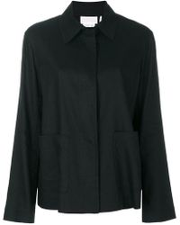 DKNY - Classic Draped Fitted Jacket - Lyst