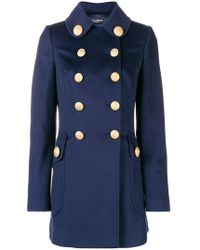 Dolce & Gabbana - Double-breasted Military Coat - Lyst