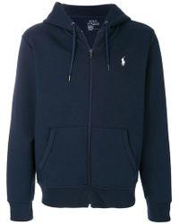 Polo Ralph Lauren - Sweat à capuche zippé à logo - Lyst