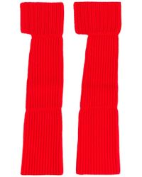 Ports 1961 - Ribbed Arm-warmer Gloves - Lyst