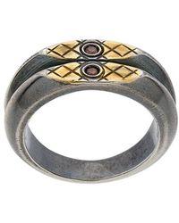 Bottega Veneta - Double Band Ring - Lyst