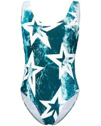 Perfect Moment - Wild Ocean Star Print One Piece - Lyst