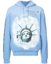 Off-White c/o Virgil Abloh - Liberty Hoodie - Lyst