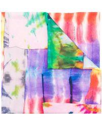Pierre Louis Mascia - Gradient Print Scarf - Lyst