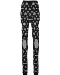 KTZ - Logo Cut-detail Leggings - Lyst