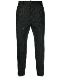 DSquared² - Crystal Embellished Trousers - Lyst
