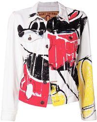Marc Jacobs - Mickey Print Denim Jacket - Lyst