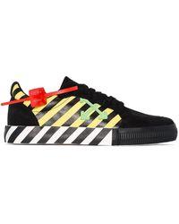 Off-White c/o Virgil Abloh - Arrow Logo Stripe Sneakers - Lyst