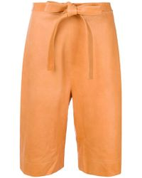 JW Anderson - High-waisted Tie Shorts - Lyst